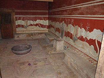 Knossos, The Throne Room