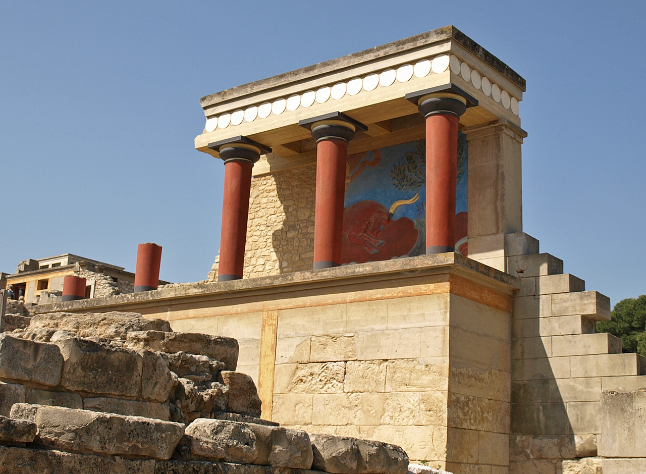 Minoan Crete -- The Palace of Knossos 3
