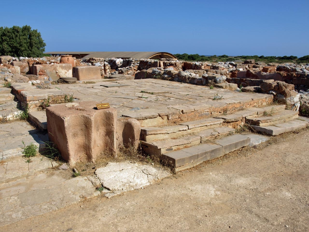 Minoan Crete -- The Palace of Malia