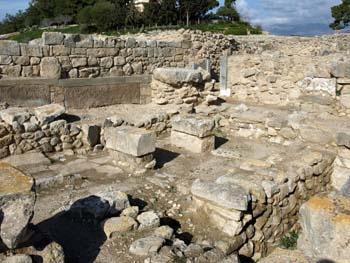 Phaistos: Pillar Crypt