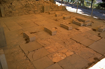 Phaistos: The King's Megaron