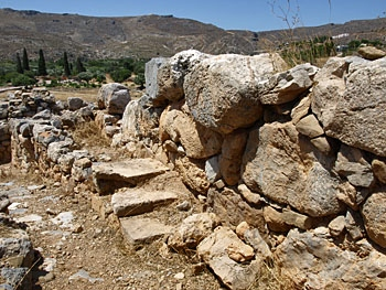 Zakros: Cyclopean Wall